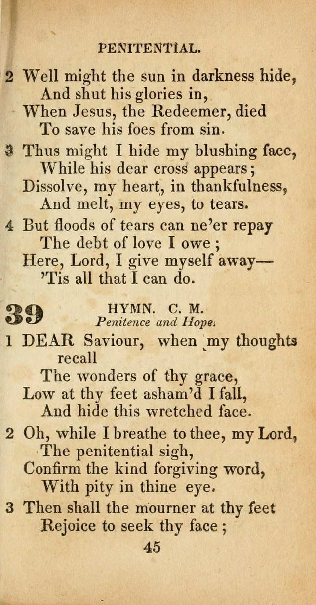 Sacred lyrics, or Select hymns: particularly adapted to revivals ...