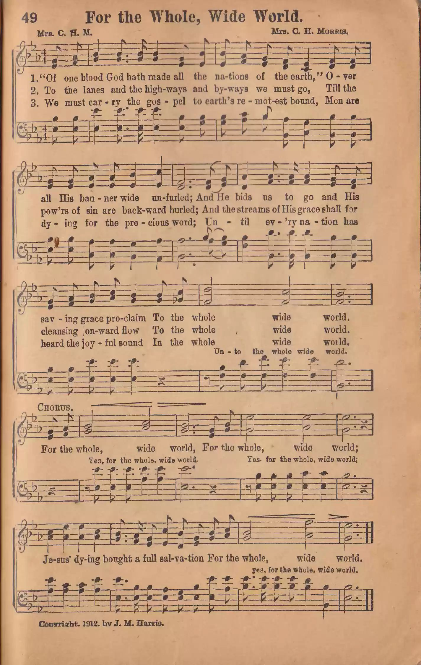 Songs of Mounting Up No. 2 page 49