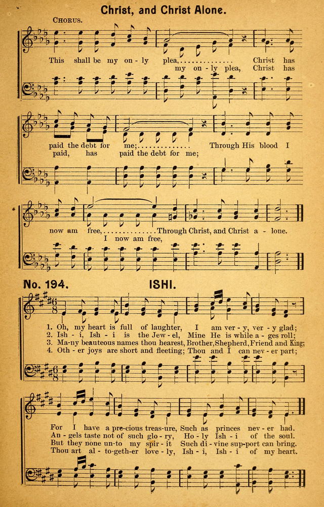 Songs of the Pentecost for the Forward Gospel Movement page 193