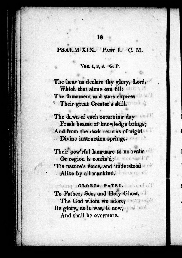 A Selection of Psalms, Hymns and Anthems, for every Sunday and principal festival throughout the year. for the use of congregations in the dioceses Quebec and Toronto. page 12