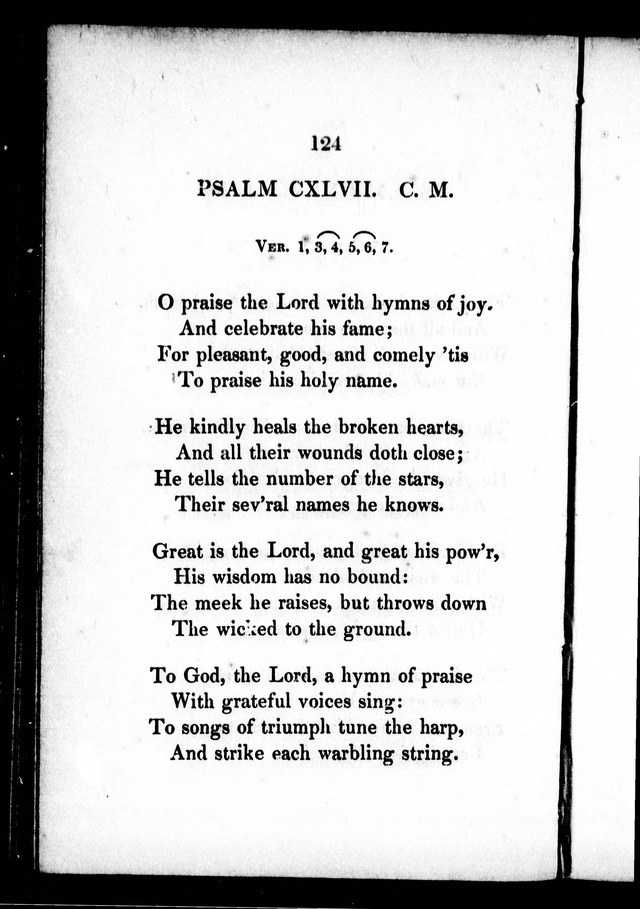 A Selection of Psalms, Hymns and Anthems, for every Sunday and principal festival throughout the year. for the use of congregations in the dioceses Quebec and Toronto. page 121