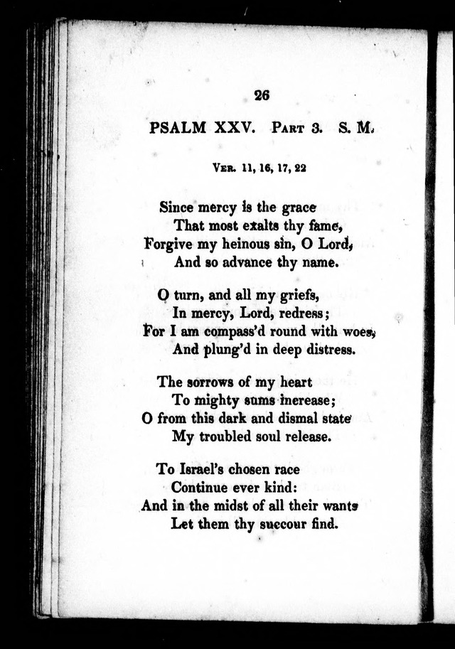 A Selection of Psalms, Hymns and Anthems, for every Sunday and principal festival throughout the year. for the use of congregations in the dioceses Quebec and Toronto. page 20