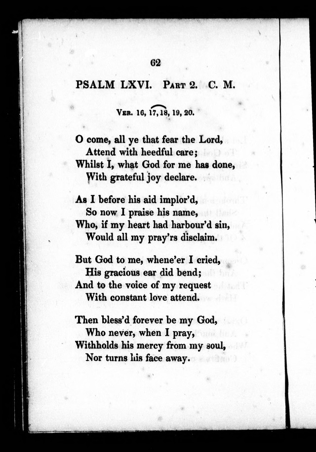 A Selection of Psalms, Hymns and Anthems, for every Sunday and principal festival throughout the year. for the use of congregations in the dioceses Quebec and Toronto. page 56