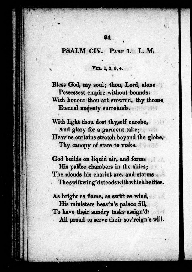A Selection of Psalms, Hymns and Anthems, for every Sunday and principal festival throughout the year. for the use of congregations in the dioceses Quebec and Toronto. page 91