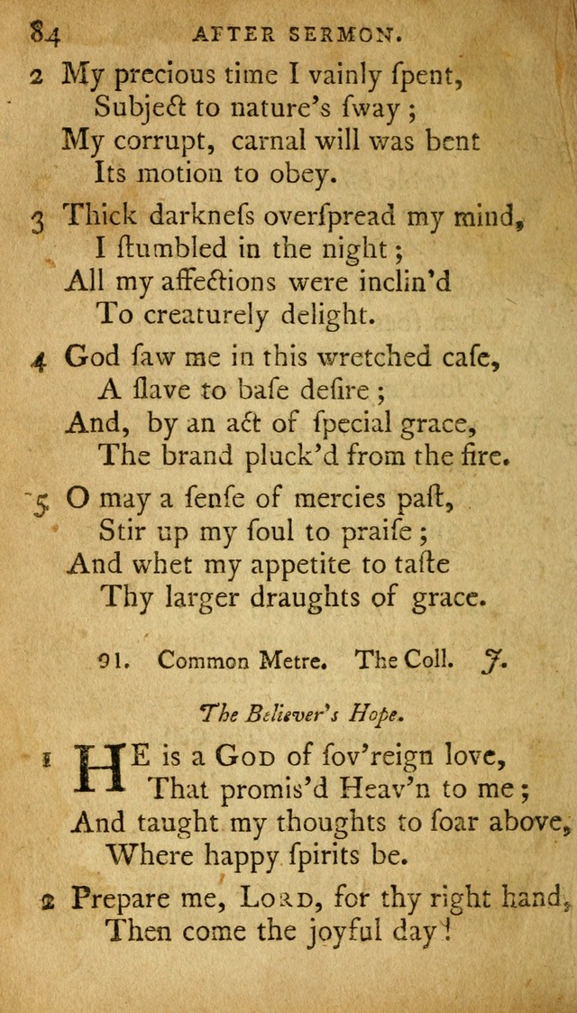 A Selection of Psalms and Hymns: done under appointment of the Philadelphian Association (2nd ed) page 106