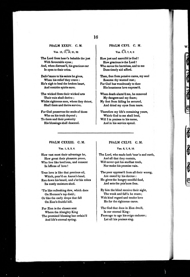 A Selection of Psalms and Hymns: for every Sunday and principle festival throughout the year for the use of congregations in the Diocess of Quebec page 12