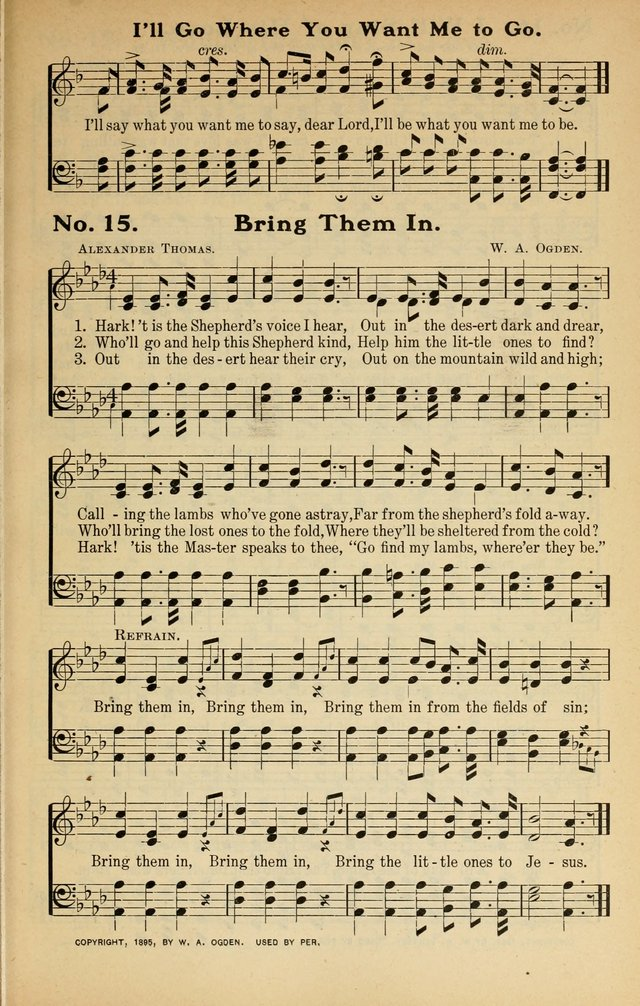 Song Praises: for the Sunday school, Christian workers