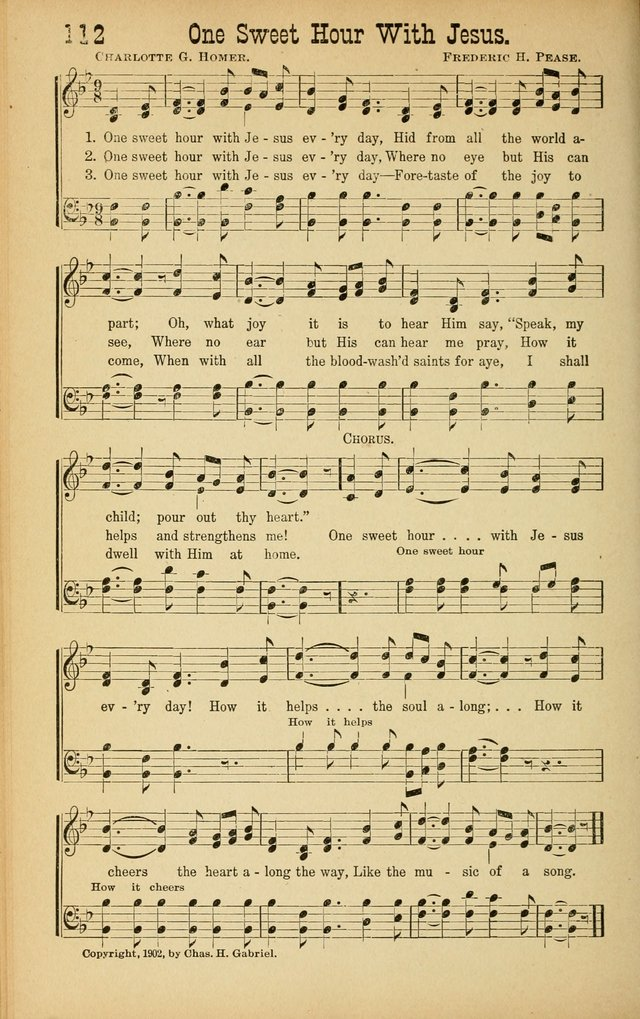 All Music Chords one sweet day sheet music : One Sweet Hour With Jesus | Hymnary.org