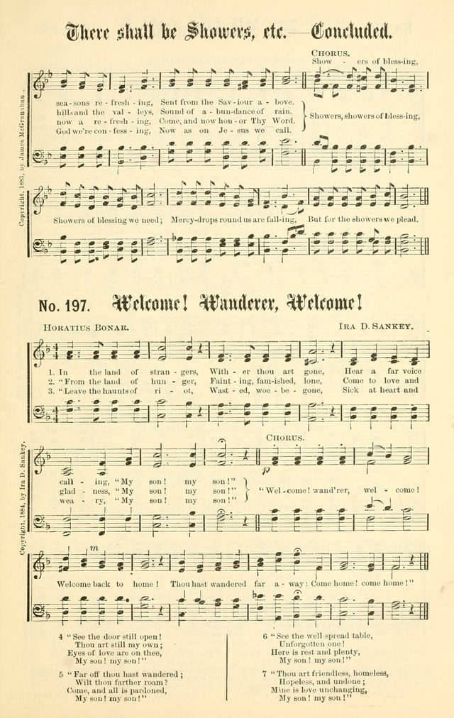 Sacred Songs No. 1: compiled and arranged for use in gospel meetings, Sunday schools, prayer meetings and other religious services page 179