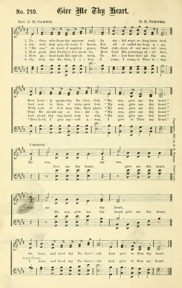 Sacred Songs No. 1: compiled and arranged for use in gospel meetings, Sunday schools, prayer meetings and other religious services page 188