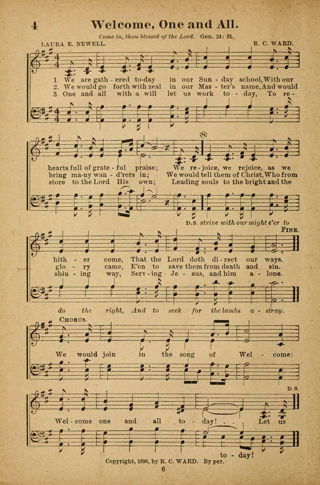 The Seed Sower: a collection of songs for Sunday schools and gospel meetings page 6