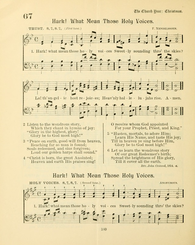 Sunday-School Book: with music: for the use of the Evangelical Lutheran congregations (Rev. and Enl.) page 162