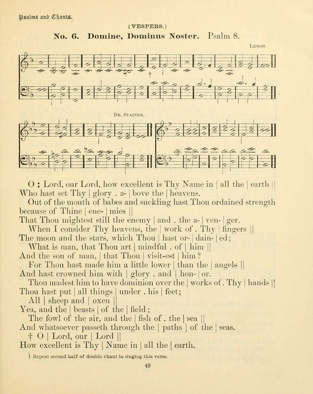 Sunday-School Book: with music: for the use of the Evangelical Lutheran congregations (Rev. and Enl.) page 49