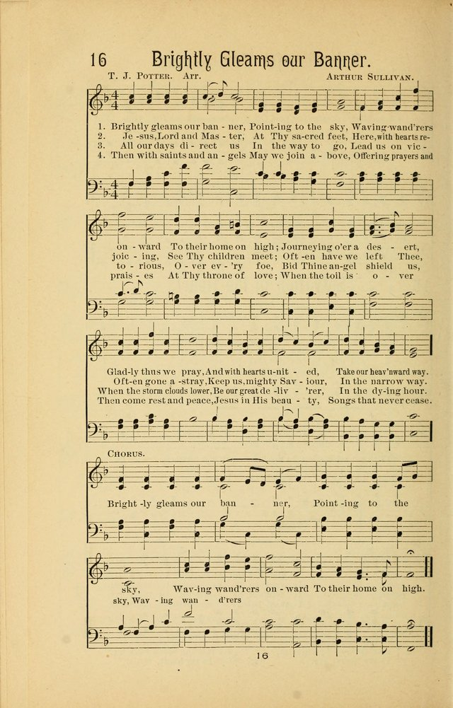 Songs and Solos used by the Christian Crusaders in their Special Soul-Saving Work: and adapted for the church, grove, school, choir, and home page 15