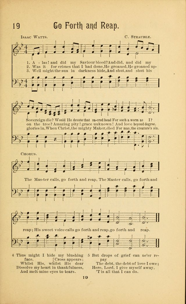 Songs and Solos used by the Christian Crusaders in their Special Soul-Saving Work: and adapted for the church, grove, school, choir, and home page 18