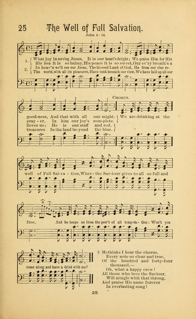 Songs and Solos used by the Christian Crusaders in their Special Soul-Saving Work: and adapted for the church, grove, school, choir, and home page 24