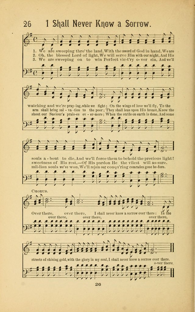 Songs and Solos used by the Christian Crusaders in their Special Soul-Saving Work: and adapted for the church, grove, school, choir, and home page 25