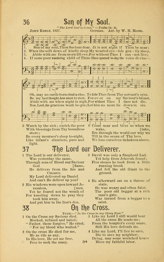 Songs and Solos used by the Christian Crusaders in their Special Soul-Saving Work: and adapted for the church, grove, school, choir, and home page 33