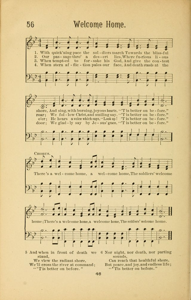 Songs and Solos used by the Christian Crusaders in their Special Soul-Saving Work: and adapted for the church, grove, school, choir, and home page 47