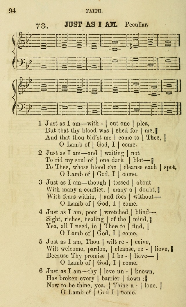The Sunday School Chant and Tune Book: a collection of canticles, hymns and carols for the Sunday schools of the Episcopal Church page 94