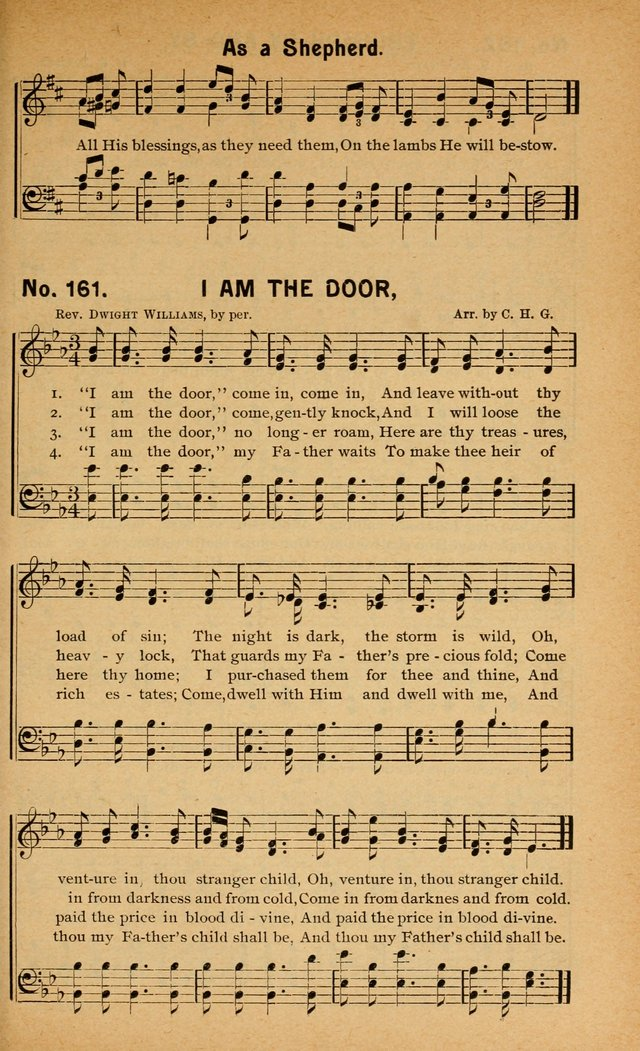 Salvation Songs: for gospel meetings, Endeavor Societies, Epworth Leagues, Baptist Unions, Sunday schools and prayer meetings page 164