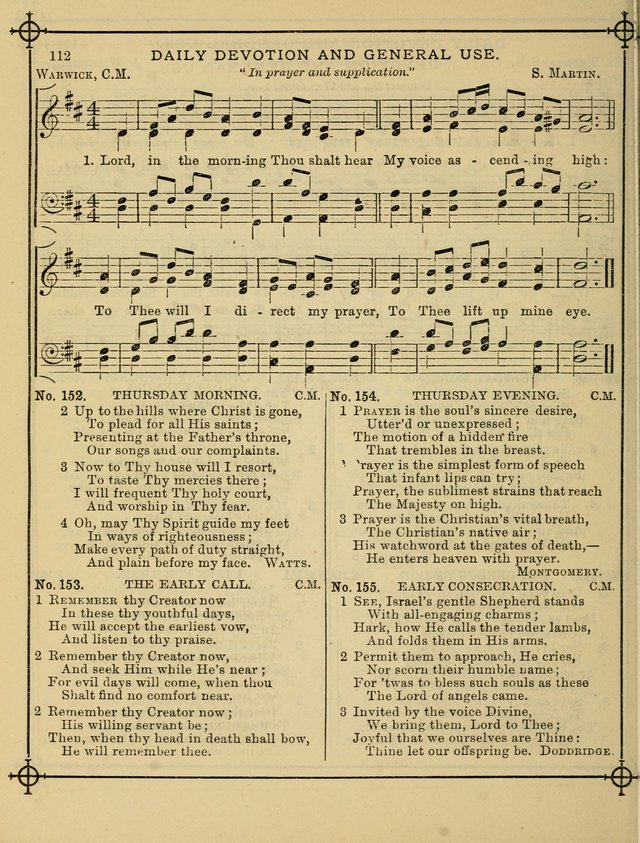 Song Sermons for General Use and Special Services page 110