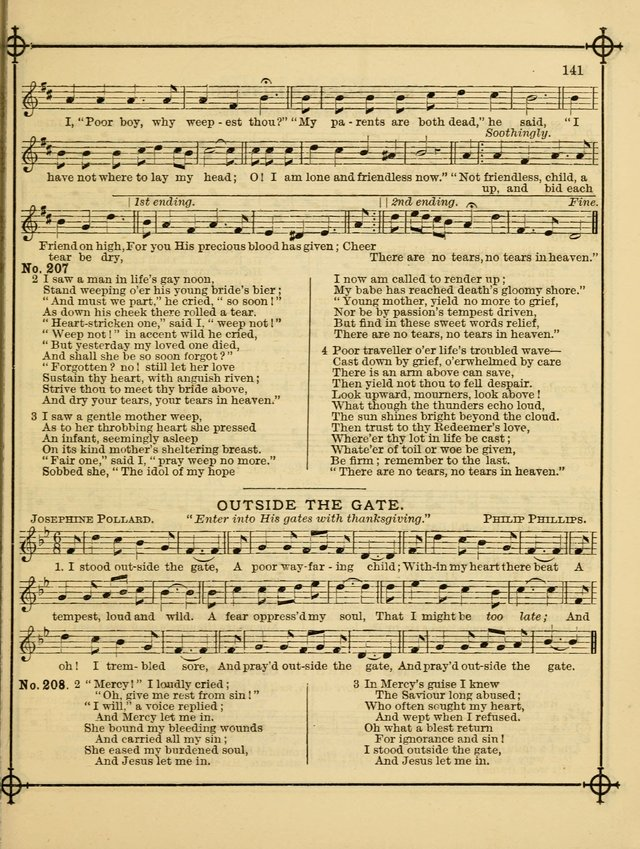 Song Sermons for General Use and Special Services page 141