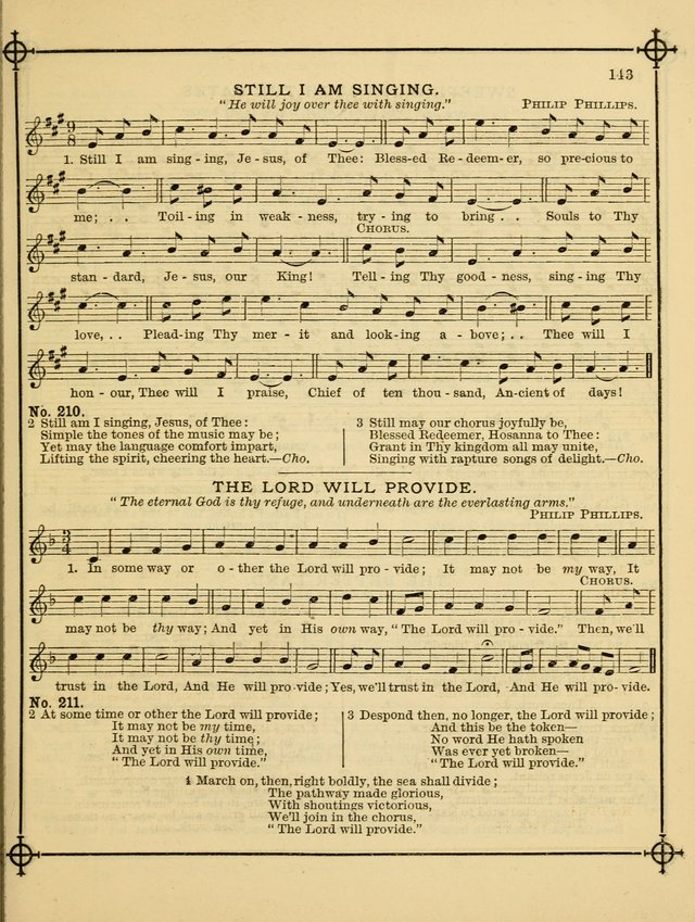 Song Sermons for General Use and Special Services page 143