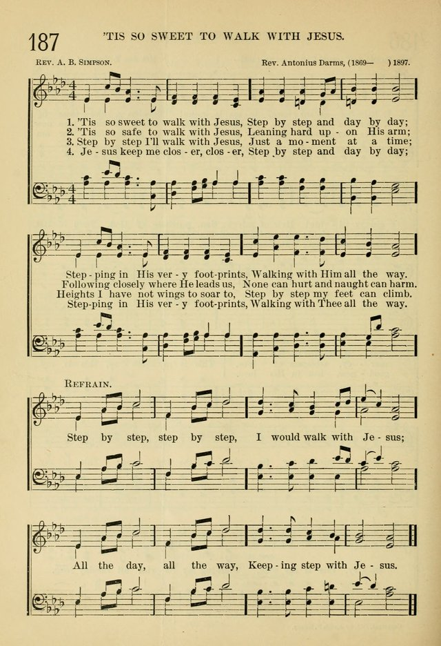 All Music Chords one sweet day sheet music : The Sunday School Hymnal: with offices of devotion 187. 'Tis so ...
