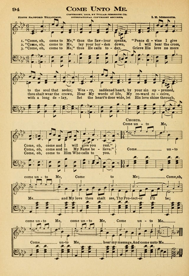 Sunday School Hymns No. 2 page 101