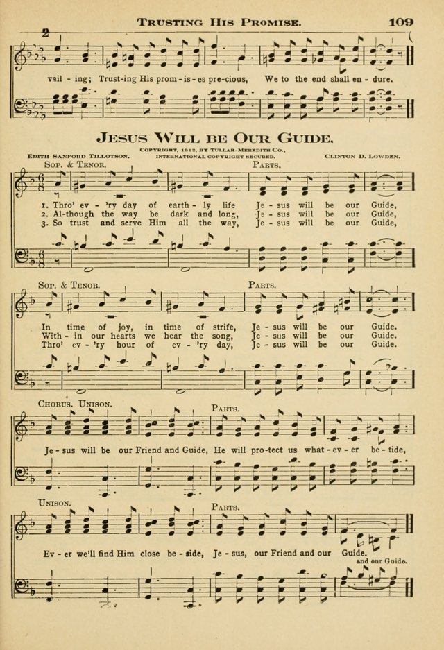 Sunday School Hymns No. 2 page 116