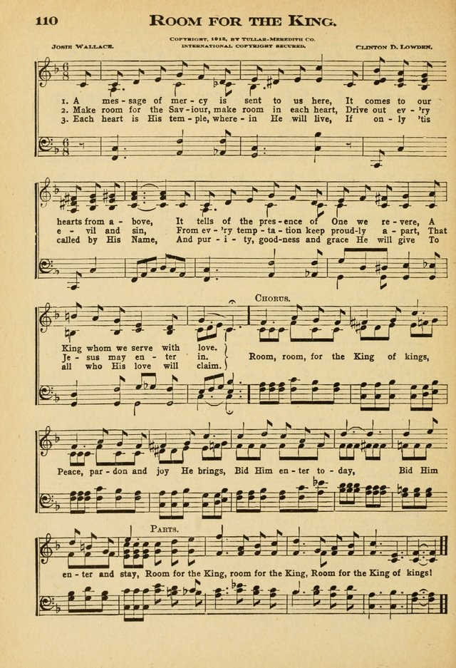 Sunday School Hymns No. 2 page 117