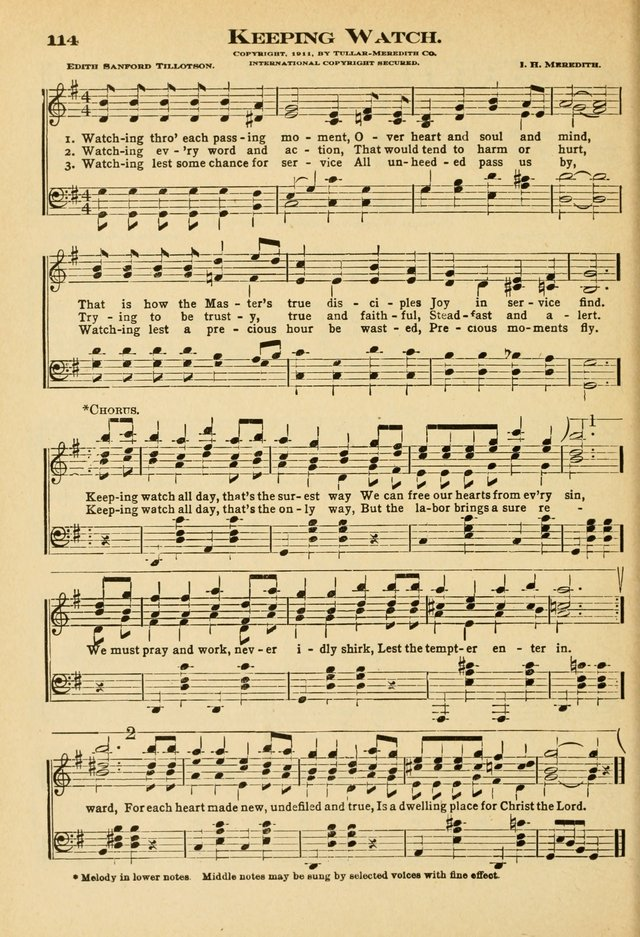 Sunday School Hymns No. 2 page 121