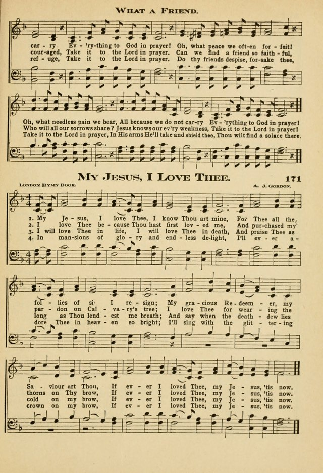 Sunday School Hymns No. 2 page 172