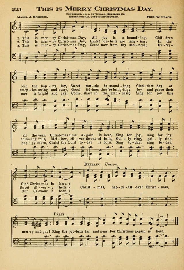 Sunday School Hymns No. 2 page 199