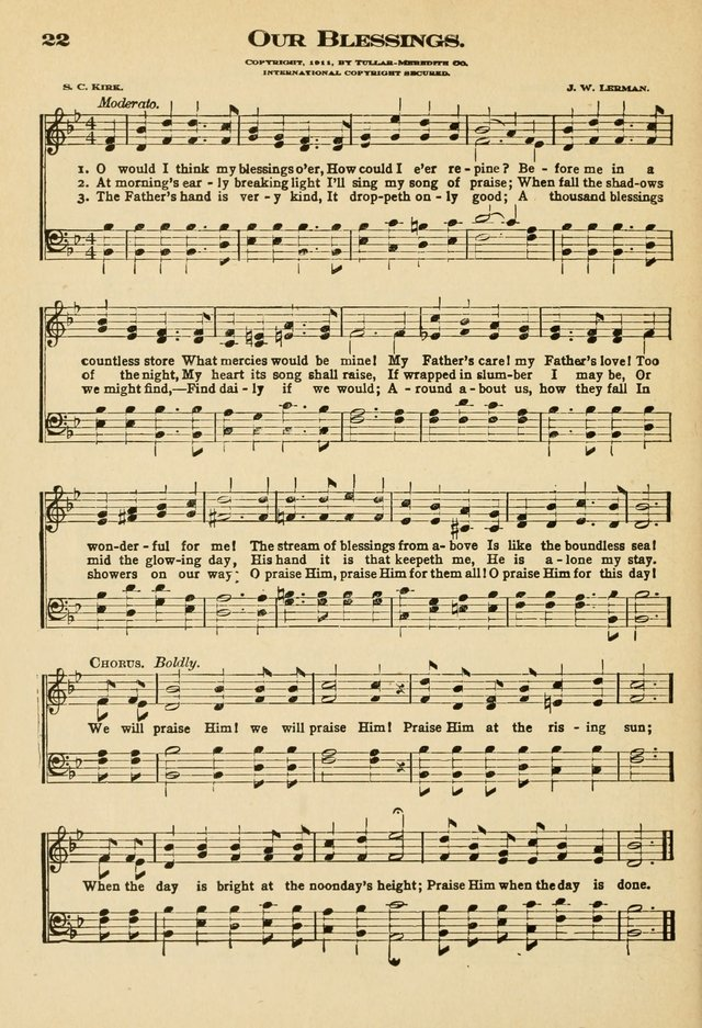 Sunday School Hymns No. 2 page 29