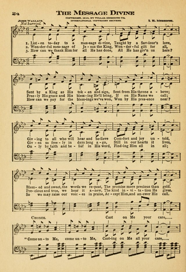 Sunday School Hymns No. 2 page 31