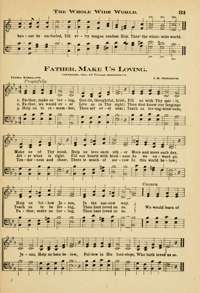 Sunday School Hymns No. 2 page 38