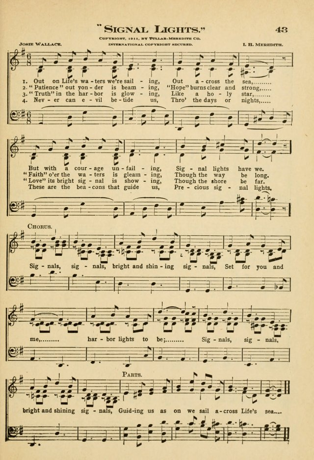 Sunday School Hymns No. 2 page 50