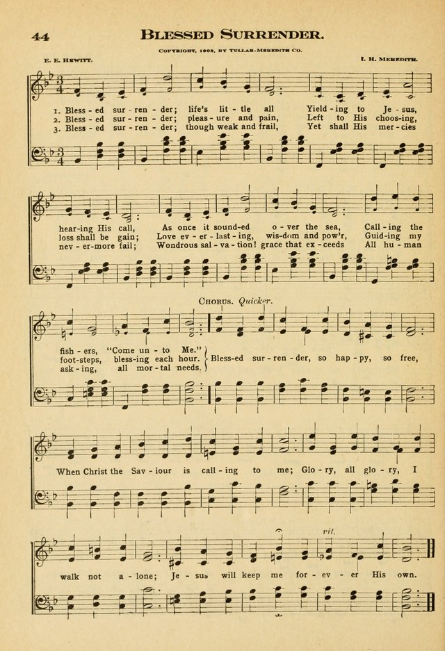Sunday School Hymns No. 2 page 51