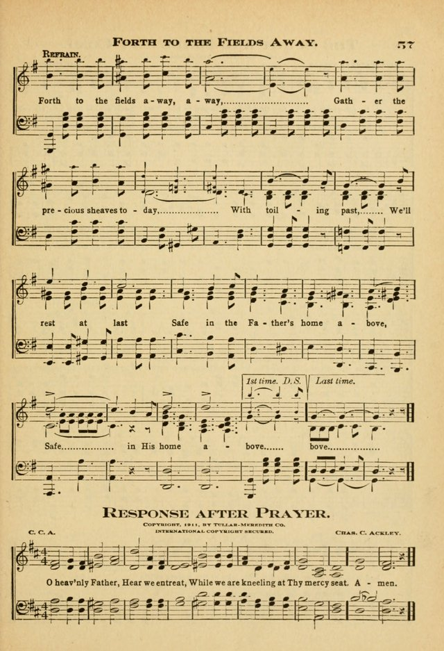 Sunday School Hymns No. 2 page 64