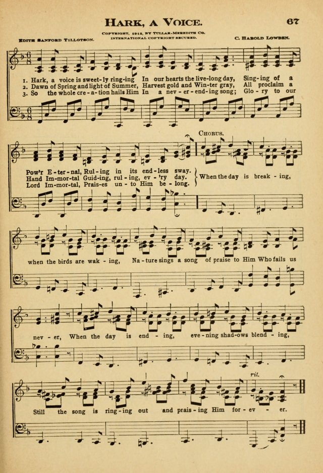 Sunday School Hymns No. 2 page 74