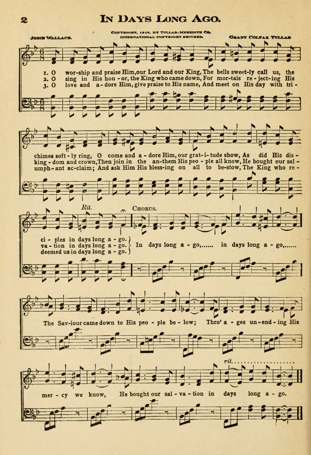 Sunday School Hymns No. 2 page 9
