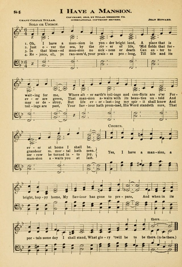 Sunday School Hymns No. 2 page 91