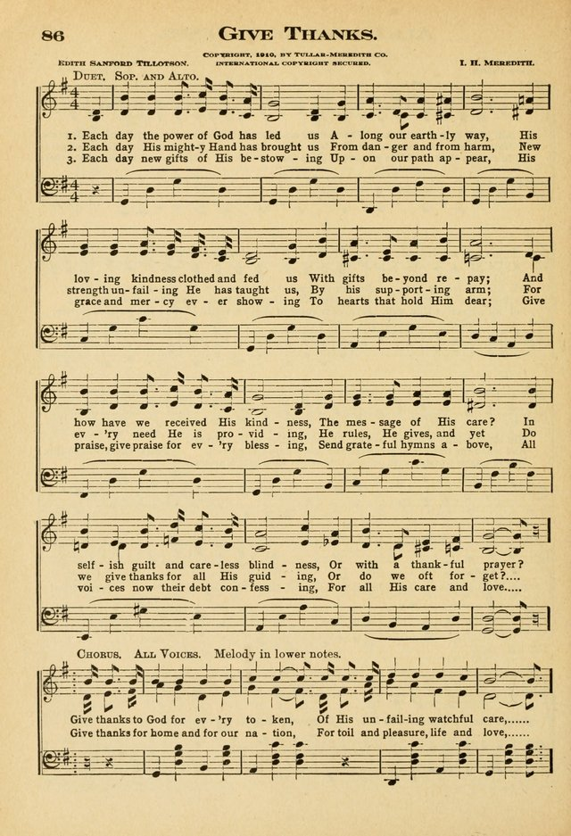 Sunday School Hymns No. 2 page 93