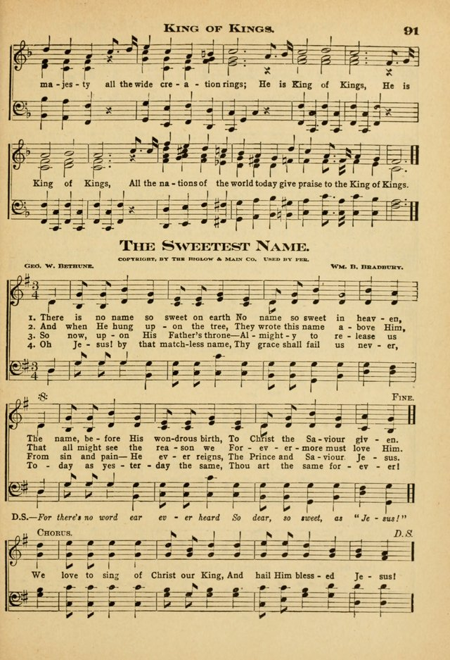 Sunday School Hymns No. 2 page 98