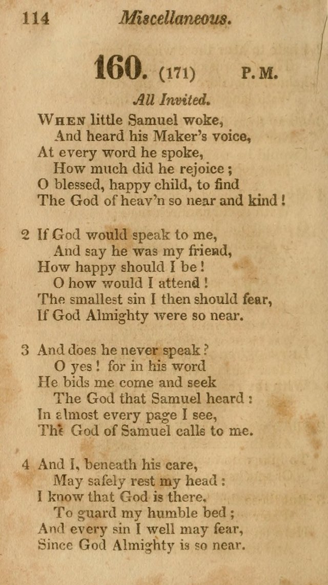 Sunday School Hymn Book. (19th ed) page 114