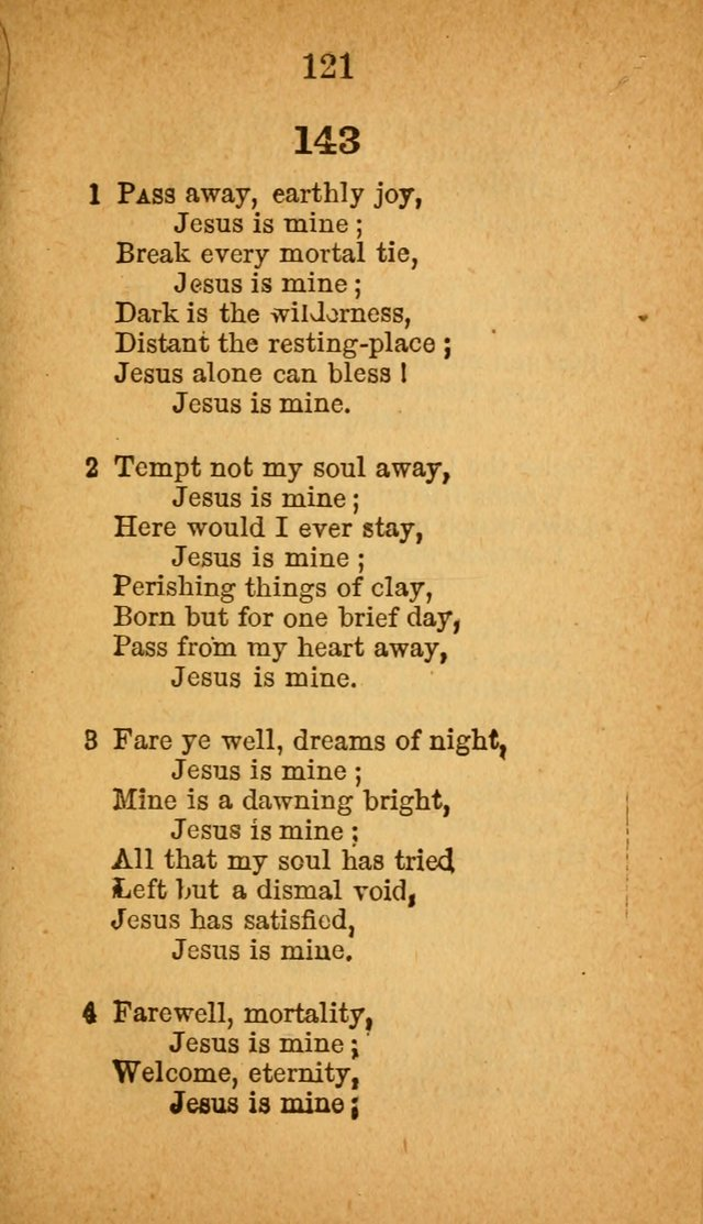 Sabbath-School Hymn-Book page 121