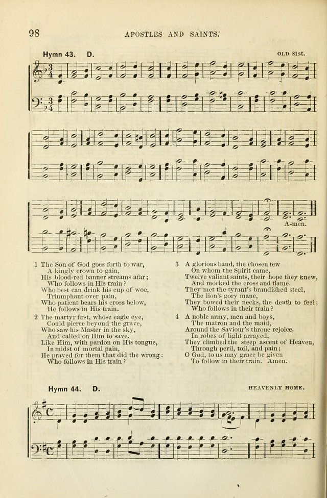 The Sunday School Hymnal  page 100