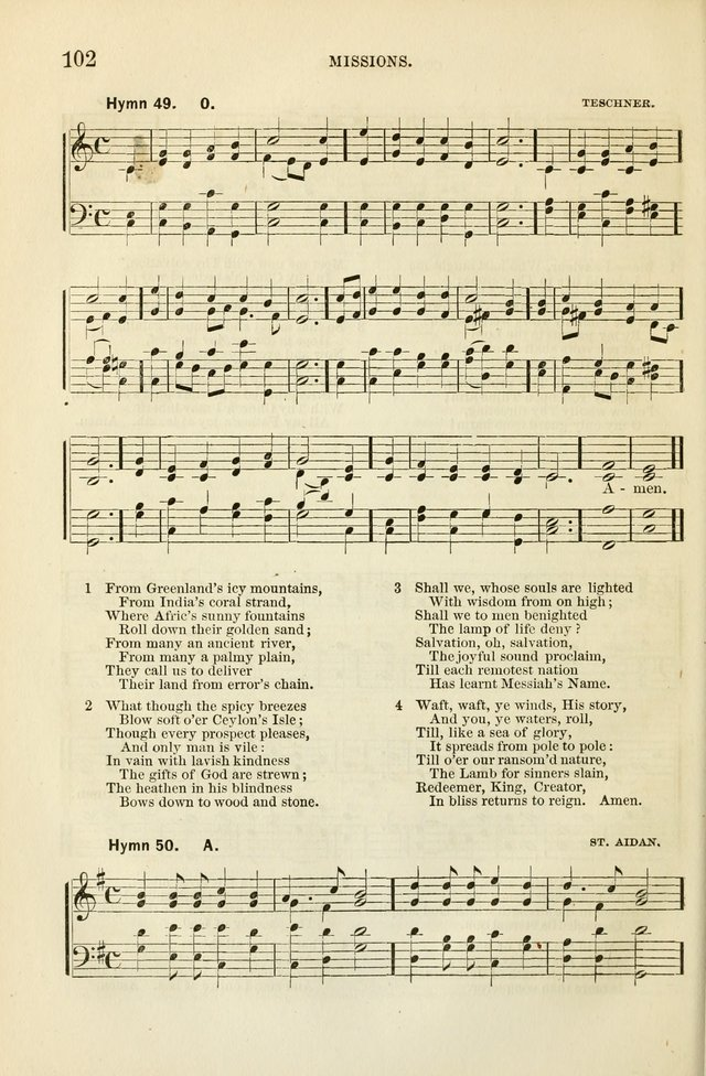 The Sunday School Hymnal  page 104